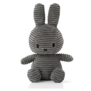 IKEA - オランダ限定  【新品タグ付き 】コーデュロイ素材ミッフィー    グレー