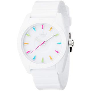 アディダス(adidas)のadidas 腕時計 ADH2915 SANTIAGO ホワイト(腕時計)