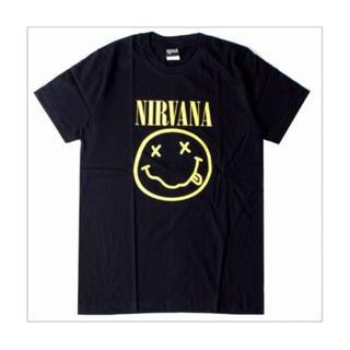 メンズ ニルヴァーナ Tシャツ ニコ イエロー M ブラック ニルバーナ(Tシャツ/カットソー(半袖/袖なし))