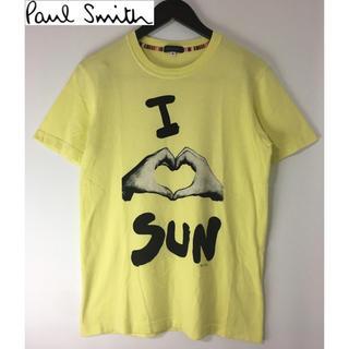 ポールスミス(Paul Smith)のポールスミス 半袖プリントTシャツ イエロー 黄色 M(Tシャツ/カットソー(半袖/袖なし))