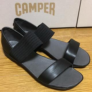 カンペール(CAMPER)の新品 Camper Right Nina カンペール サンダル ブラック(サンダル)