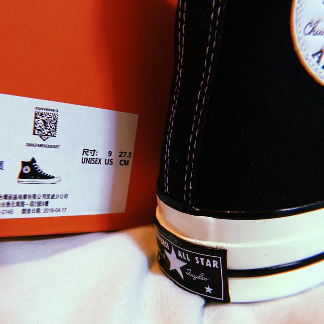CONVERSE(コンバース)のコンバース ct70 チャックテイラー us9 27.5㎝ 日本未発売  メンズの靴/シューズ(スニーカー)の商品写真