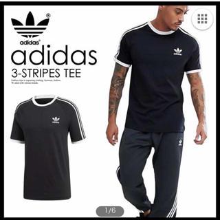 アディダス(adidas)の新品 adidas TEE M ブラック ユニセックス トレフォイル タグつき(Tシャツ/カットソー(半袖/袖なし))