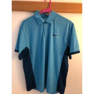 NIKE - NIKE ゴルフ メンズポロシャツ 水色