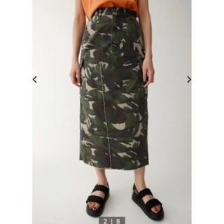 マウジー(moussy)のmoussy ミリタリースカート(ひざ丈スカート)