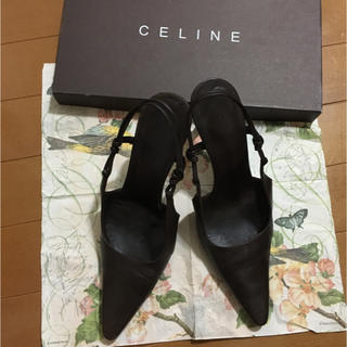 celine - セリーヌ ブラウンサンダル 23~23.5cm