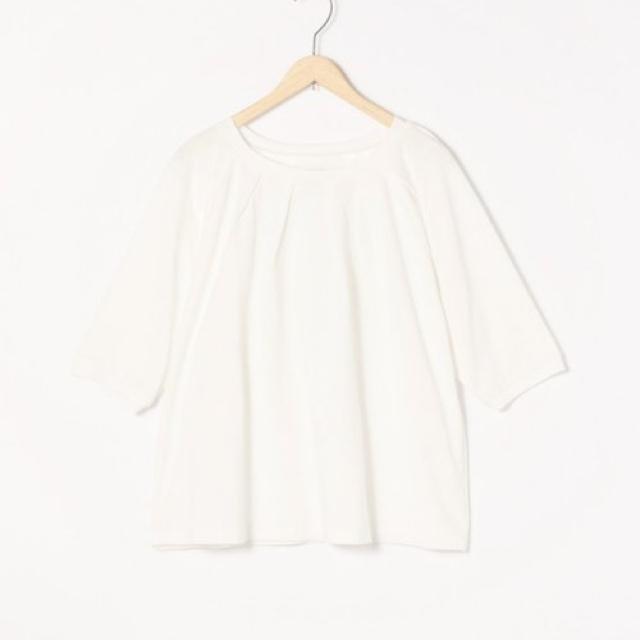 coen(コーエン)の新品 コーエン ひんやり着心地の良いシャツ ホワイト ⭐︎ラスト一点‼️ メンズのトップス(Tシャツ/カットソー(半袖/袖なし))の商品写真