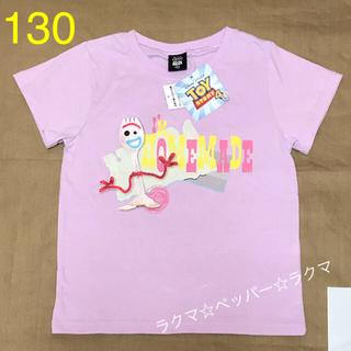 トイストーリー(トイ・ストーリー)の映画 トイストーリー4 フォーキー tシャツ 130(Tシャツ/カットソー)