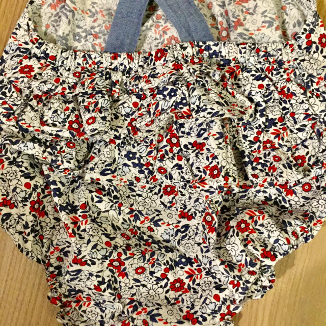 babyGAP(ベビーギャップ)のベビーギャップ ロンパース キャミソール 80 2枚セット キッズ/ベビー/マタニティのベビー服(~85cm)(ロンパース)の商品写真