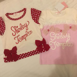 Shirley Temple - 新品&1回着用 シャーリーテンプル 100 トップス2点セット