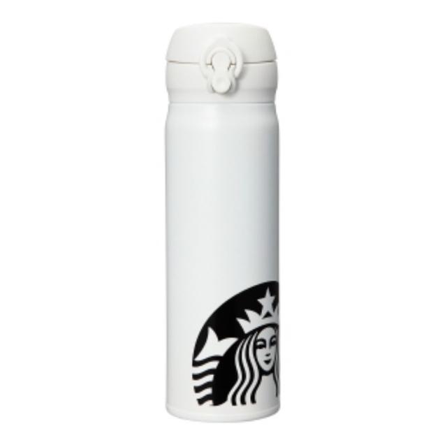 Starbucks Coffee(スターバックスコーヒー)のスターバックス サーモボトル ホワイト  インテリア/住まい/日用品のキッチン/食器(タンブラー)の商品写真