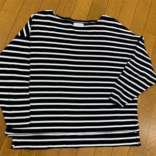 ビューティアンドユースユナイテッドアローズ(BEAUTY&YOUTH UNITED ARROWS)のボーダーシャツ  七分(Tシャツ(長袖/七分))