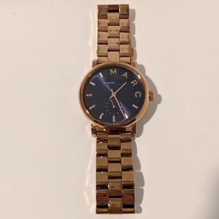 マークジェイコブス(MARC JACOBS)のMARC JACOBS マークジェイコブス 腕時計 ゴールド ブルー(腕時計)