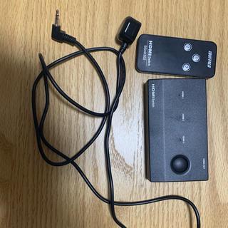バッファロー(Buffalo)のバッファロー HDMI セレクター 分配器 3入力1出力(その他)