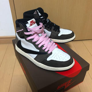 ナイキ(NIKE)のair jordan 1 travis scott cactus jack (スニーカー)