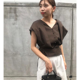 Ameri VINTAGE -  限定値下げ 2WAY COMPACT BLOUSE  アメリヴィンテージ