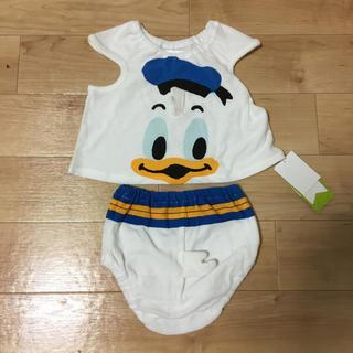 ディズニー(Disney)のドナルド ビブ(タンクトップ/キャミソール)