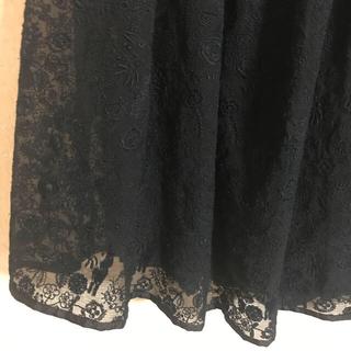 ミナペルホネン(mina perhonen)のミナペルホネン セレブレイト チュールスカート celebrate  38(ひざ丈スカート)