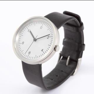 ムジルシリョウヒン(MUJI (無印良品))の新品★無印良品★腕時計・Wall Clock シルバー メンズ レディース (腕時計)