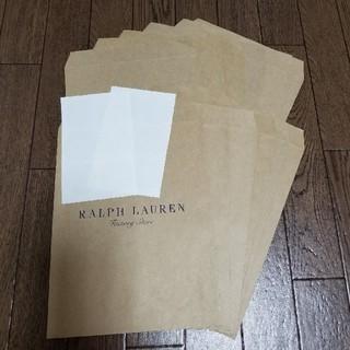 ラルフローレン(Ralph Lauren)の新品 ラルフローレン  紙袋&シール 各12枚セット(ショップ袋)