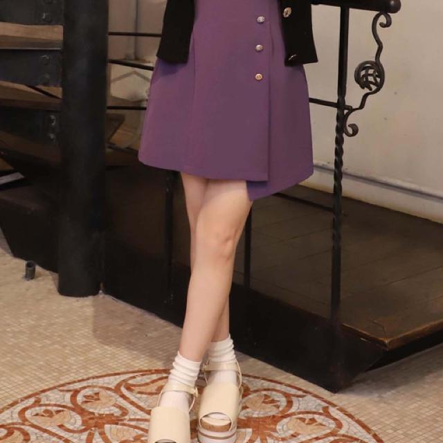 one after another NICE CLAUP(ワンアフターアナザーナイスクラップ)のナイスクラップ  ミニスカート レディースのスカート(ミニスカート)の商品写真