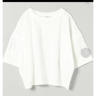 JEANASIS - 新品未開封 ジーナシス フリンジTシャツ ホワイト