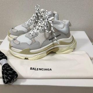 バレンシアガ(Balenciaga)のBALENCIAGA バレンシアガ triple-s 37cm(スニーカー)