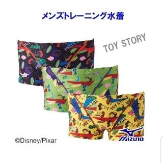 ディズニー(Disney)の新品タグ付き ミズノ 水着 メンズ ジュニア トイ・ストーリー(水着)
