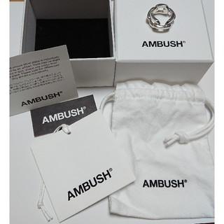 アンブッシュ(AMBUSH)のAMBUSH チェーンリング アンブッシュ シルバー(リング(指輪))