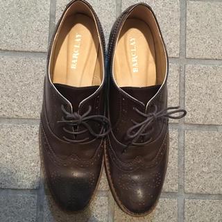バークレー(BARCLAY)のバークレー BARCLAY レースアップシューズ  24.5cm(ローファー/革靴)