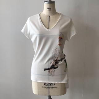 アッシュペーフランス(H.P.FRANCE)のnach 新品Tシャツ① hp france(Tシャツ(半袖/袖なし))