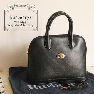 BURBERRY - Burberrys 美品 ホース ロゴ ノバチェック 2WAY ショルダーバッグ