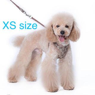 新品★犬 ハーネス★リードセット★XSサイズ
