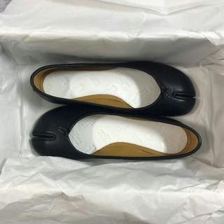マルタンマルジェラ(Maison Martin Margiela)のMasion Margielaメゾン マルジェラ足袋 バレエシューズ ブラック(ブーツ)