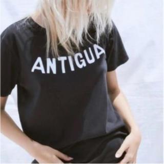 ドゥロワー(Drawer)のantigua ロマンス今期Tシャツ(Tシャツ(半袖/袖なし))