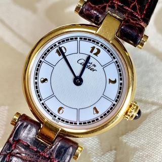 カルティエ(Cartier)の確認用 カルティエ マスト ヴァンドーム 腕時計 SM アラビア文字盤(腕時計)