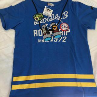 DOUBLE.B - 【新品】ダブルB 双眼鏡だまし絵Tシャツ 130