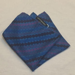 マリメッコ(marimekko)のmarimekko ポケットチーフ(ハンカチ/ポケットチーフ)