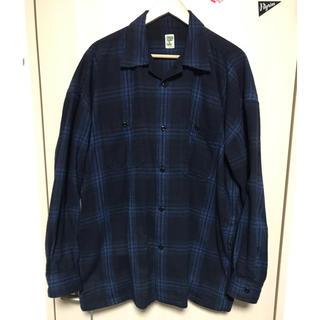 BEAMS - SSZ オンブレチェックシャツ