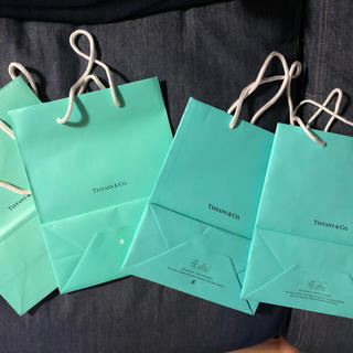 ティファニー(Tiffany & Co.)のティファニー ショッパー 4枚(ショップ袋)