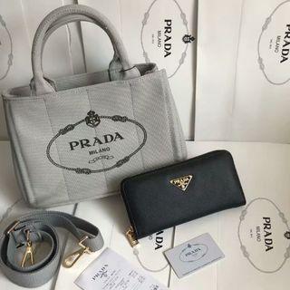 PRADA - プラダ ショルダーバッグ 2点セット ハンドバッグ 長い財布