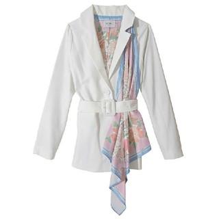 eimy istoire - eimy istoire☆Flower scarf オンテーラードジャケット