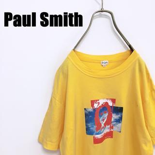 ポールスミス(Paul Smith)のPaul Smith ポールスミス Tシャツ カットソー Mサイズ 黄(Tシャツ/カットソー(半袖/袖なし))