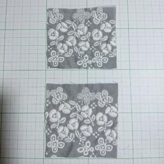 ミナペルホネン(mina perhonen)のミナペルホネン  flower cake  はぎれ 3a(生地/糸)