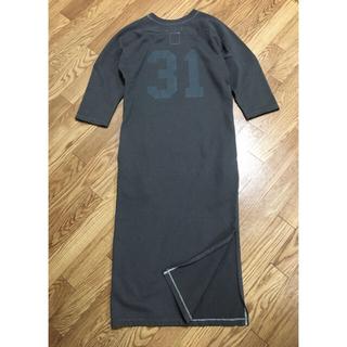 マディソンブルー(MADISONBLUE)の本日限定値下げ☺︎新品【MADISONBLUE 】31 FOOTBALL ドレス(ロングワンピース/マキシワンピース)