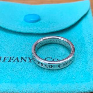 ティファニー(Tiffany & Co.)のティファニー Tiffany ナローリング 1837 #8(リング(指輪))