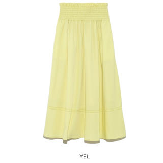 Mila Owen - MilaOwen(ミラ オーウェン) ゴムシャーリングハシゴ刺繍スカート