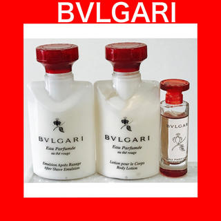 BVLGARI - 【早い者勝ち】ブルガリ BVLGARI 化粧品 アメニティ
