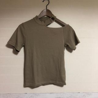 シマムラ(しまむら)のアシンメトリー カットソー Tシャツ(Tシャツ(半袖/袖なし))