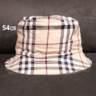 BURBERRY - バーバリー  54㎝  リバーシブル  キッズ  帽子